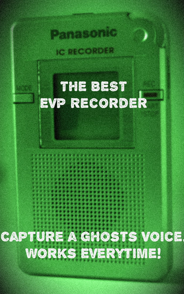 The Best EVP Recorder – Records a Ghosts / Spirits Voice Every time